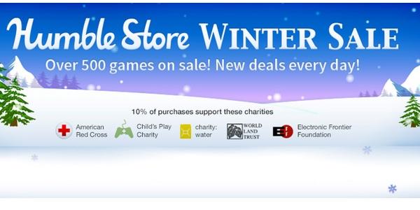 rebajas invierno Humble Store Steam