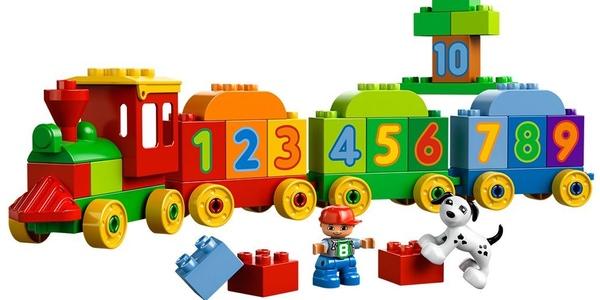 LEGO Duplo Tren de los números