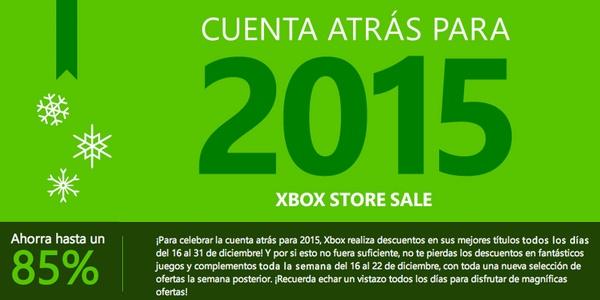 rebajas Xbox Navidad 2014