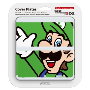 Carátula Luigi para New Nintendo 3DS