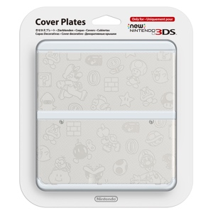 Carátula Mario Blanco para New Nintendo 3DS
