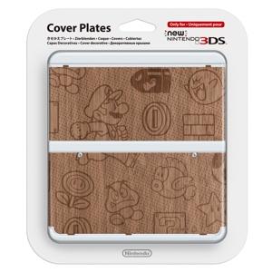 Carátula Mario Madera para New Nintendo 3DS