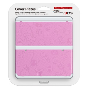 Carátula Mario Rosa para New Nintendo 3DS