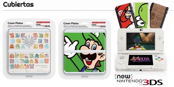 Carátulas New Nintendo 3DS al mejor precio