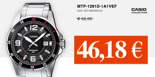 Casio Collection MTP-1291D-1A1VEF