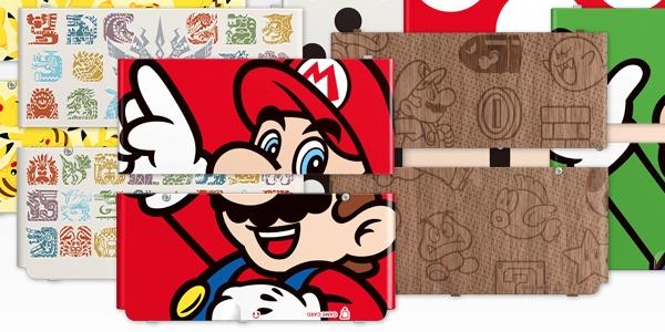 Cubiertas New Nintendo 3DS