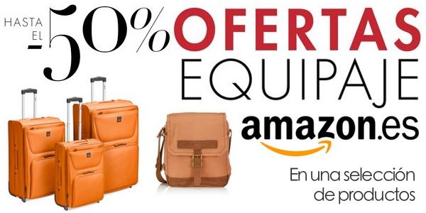 descuento Amazon equipaje