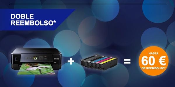 Epson Te Devuelve De 30 A 60 Euros Por La Compra De Una