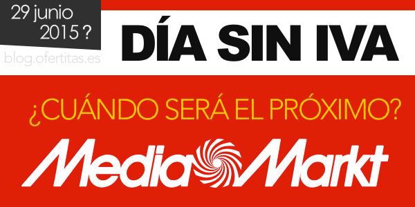 Nueva promo Día sin IVA de Media Markt