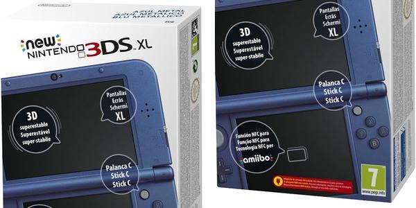 reservar New Nintendo 3DS XL azul