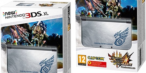 New Nintendo 3DS XL Monster Hunter Ultimate 4