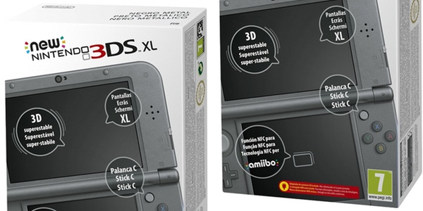 New Nintendo 3DS XL negra