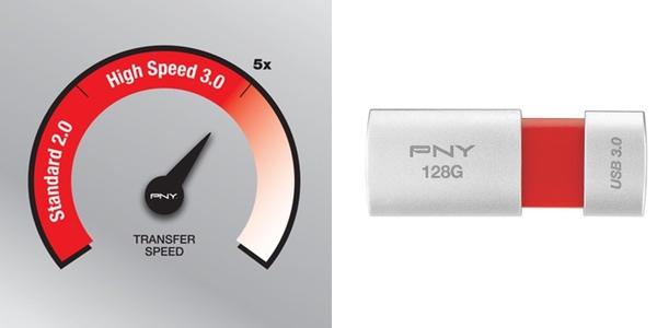 USB de memoria 128GB rápido