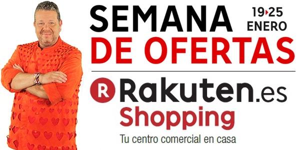 Semana de ofertas en Rakuten