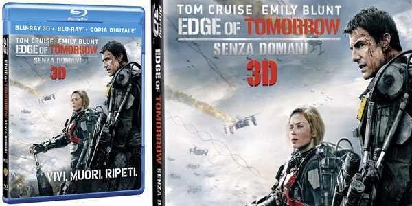 Al filo del mañana Blu-ray 3D