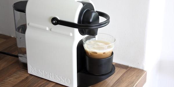 Nespresso Inissia Blanche chollo cafetera nespresso krups inissia por sólo 45€ con envío