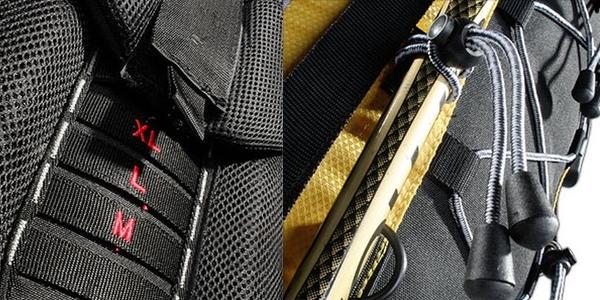 detalle mochila AspenSport