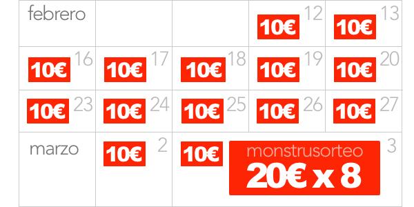 cheques sorteo Aniversario Ofertitas