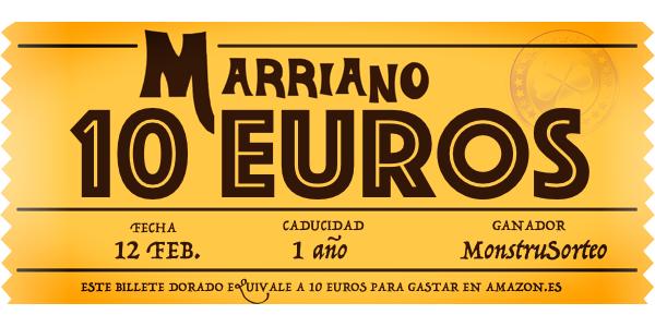Billete Dorado Marriano