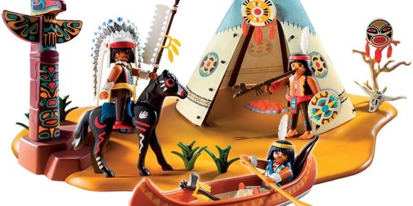 Playmobil campamento indio