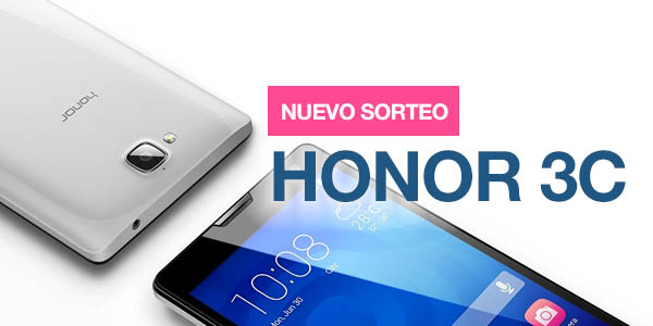 Sorteo Honor 3C