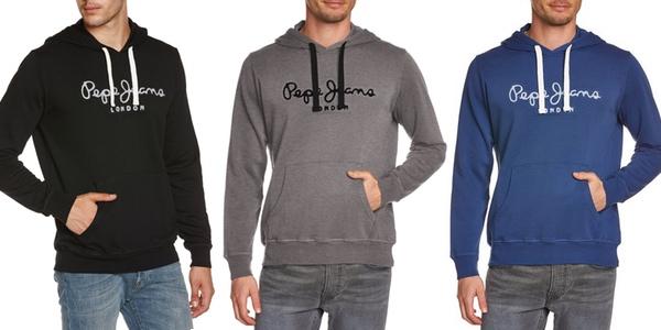 df1a7c9f8801c Oferta sudadera Pepe Jeans con capucha por 37€ y envío gratis