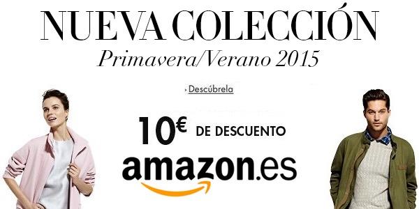 Cupón descuento ropa Amazon.es