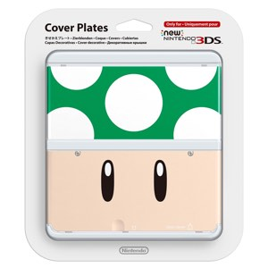 Cubierta Toad verde para New Nintendo 3DS