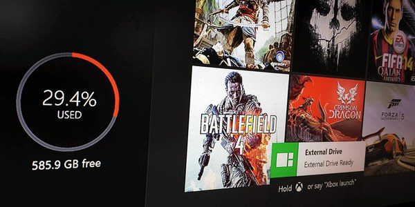 ampliar espacio Xbox One