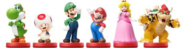 Figuras amiibo Super Mario Bros