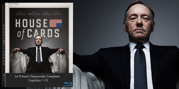 House of Cards Blu-ray oferta