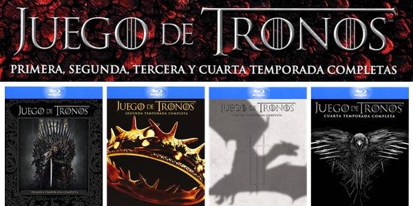 Juego De Tronos Temporadas 1-4 Blu-ray