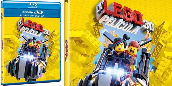 La Lego película Blu-ray 3D