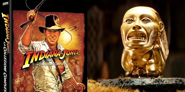 oferta pack Indiana Jones DVD