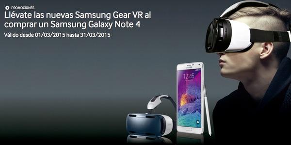 Samsung Gear VR gratis