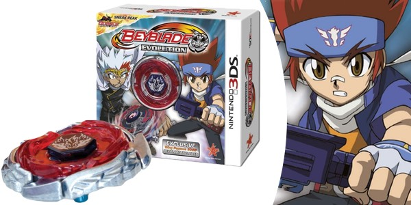 Beyblade Evolution con Peonza