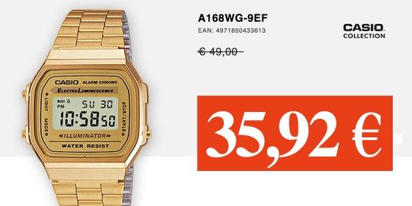 bcfd91fb1c19 reloj casio dorado amazon