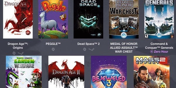 Pack Humble Bundle Origin
