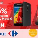 Oferta Motorola Moto G Carrefour