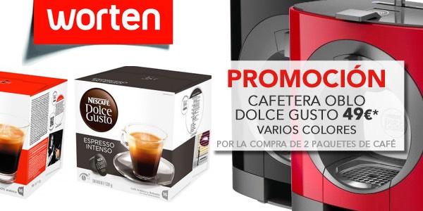 Promoción cafetera Oblo Dolce Gusto