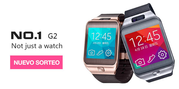 Sorteo smartwatch no1 G2