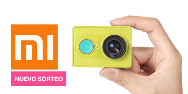 Sorteo cámara Xiaomi Yi