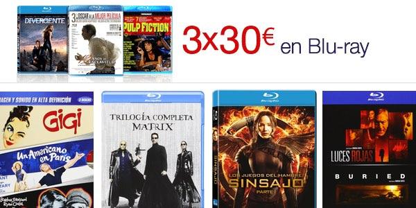Ofertas en películas y packs Blu-ray