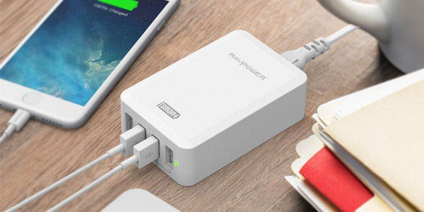 Cargador USB con varios puertos