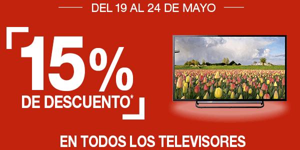 Ofertas en televisores Fnac