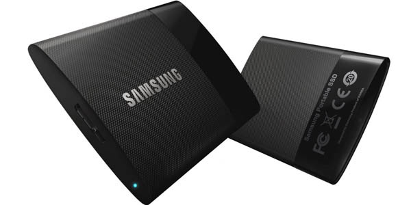 Disco duro SSD portátil samsung mu-ps1t0beu