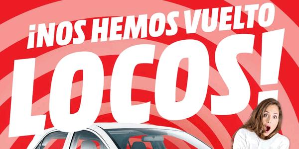 Cat 225 Logo De Ofertas En Media Markt Quot Nos Hemos Vuelto Locos Quot