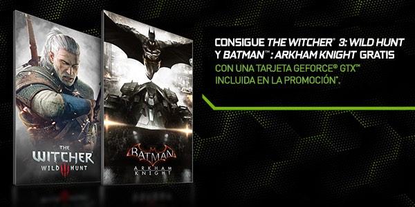 Promoción GeForce GTX juegos gratis