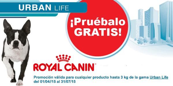 Royal Canin Urban Life gratis
