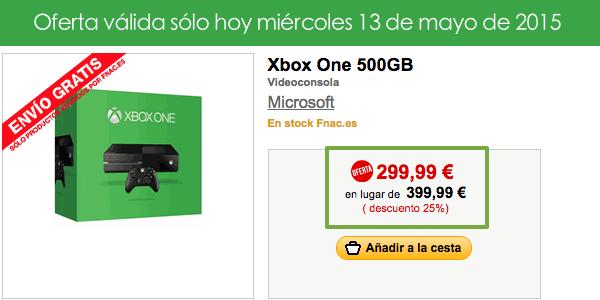 Xbox One al mejor precio